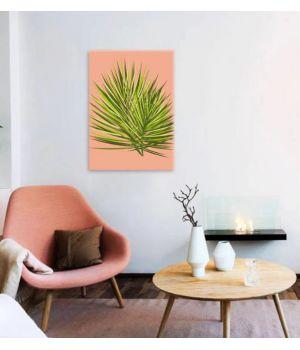 "Постер ""Тропический лист"" 30x40 cm"