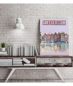 "Постер ""Amsterdam"" 30x40 cm"