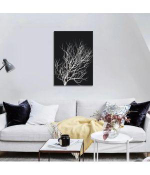 """Постер на холсте """"Зимнее дерево"""" 30x40 cm"""