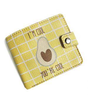 Прикольний гаманець з принтом Cool avocado
