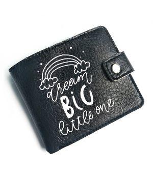 Прикольний гаманець з принтом Dream big