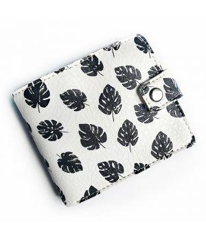 Прикольный кошелек с принтом Black&White