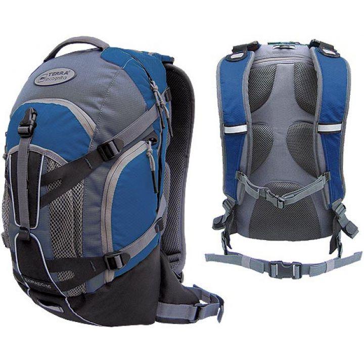 Рюкзак спортивний Terra Incognita Dorado 16 синій/сірий
