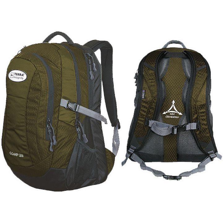 Рюкзак спортивный Terra Incognita Comp 28 коричневый