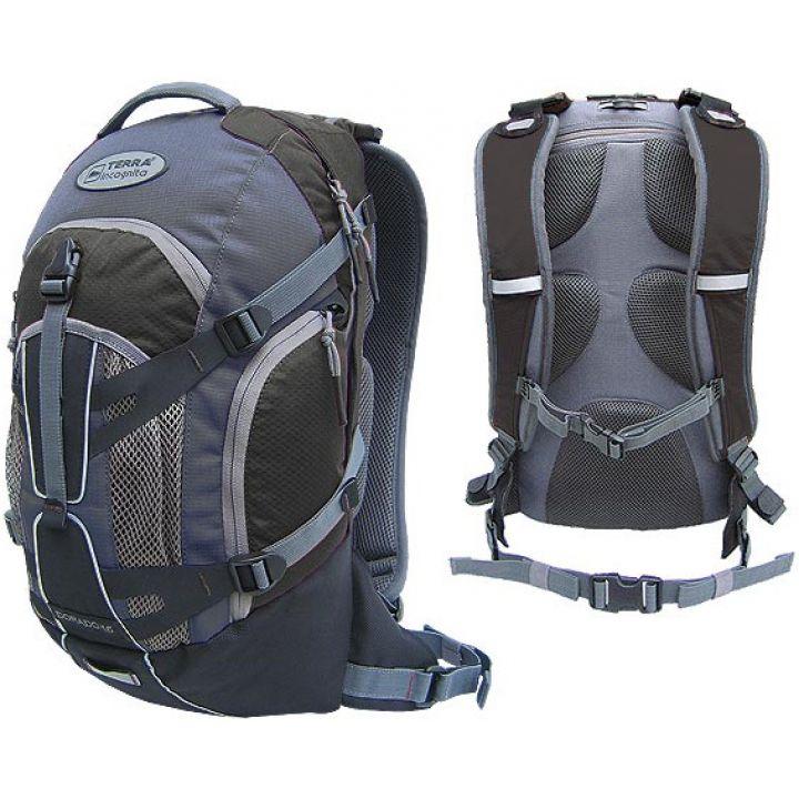 Рюкзак спортивний Terra Incognita Dorado 16 чорний/сірий