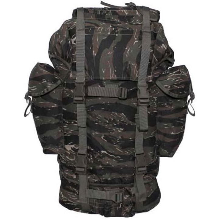 Рюкзак камуфляжный 65л тигровый камуфляж MFH 30253C