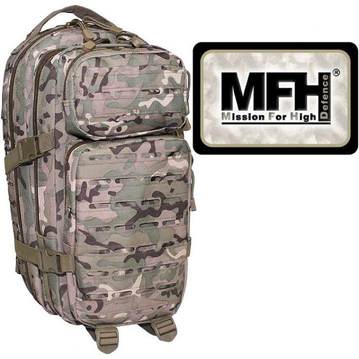 """Камуфляжный рюкзак 30л американского (США) типа MFH """"Assault I Laser"""" operation-camo 30335X"""