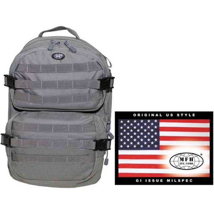 """Рюкзак камуфляжный 40л американского (США) типа MFH """"Assault II"""" серый 30343D"""