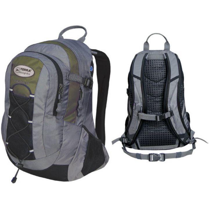 Рюкзак спортивный Terra Incognita Cyclone 22 зелёный/серый