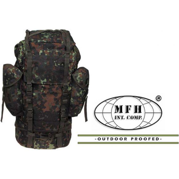 Рюкзак камуфляжный 65л флектарн MFH 30253V