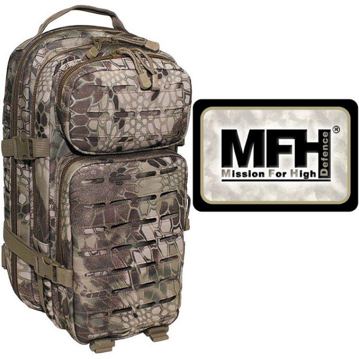"""Камуфляжний рюкзак 30л американського (США) типу MFH """"Assault I Laser"""" snake FG 30335O"""
