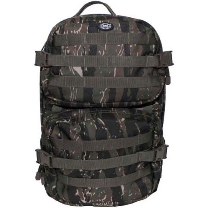 """Рюкзак камуфляжный 40л американского (США) типа MFH """"Assault II"""" тигровый камуфляж 30343C"""