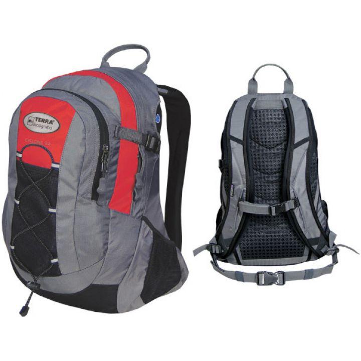 Рюкзак спортивный Terra Incognita Cyclone 22 красный/серый