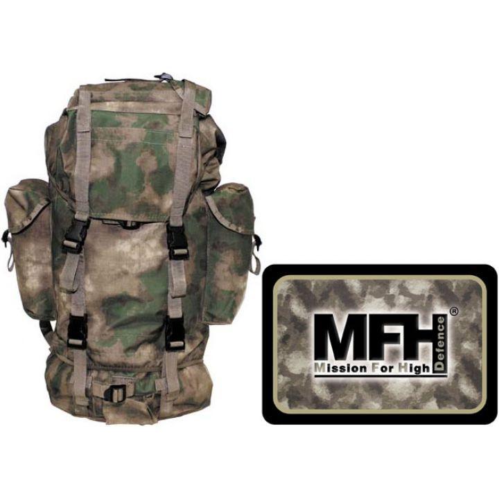 Рюкзак камуфляжний 65л HDT camo green MFH 30253E
