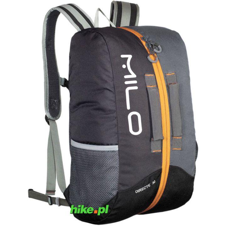 Рюкзак Milo Directe 30 темно-сірий/світло-сірий/жовтий