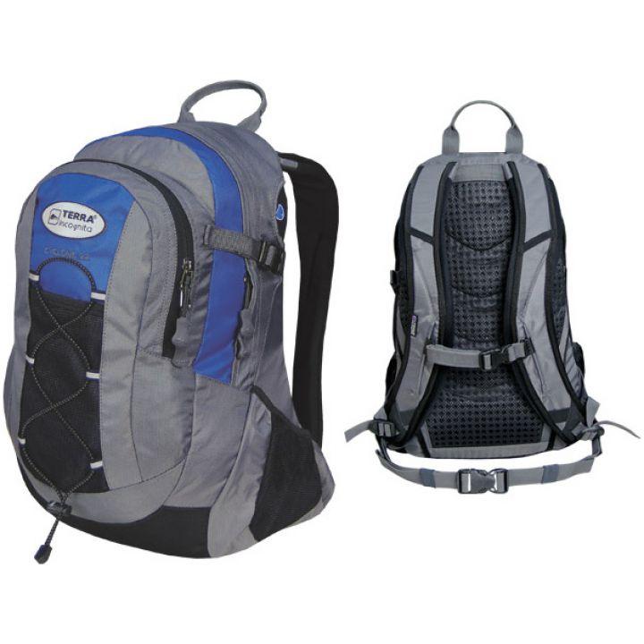 Рюкзак спортивний Terra Incognita Cyclone 22 синій/сірий
