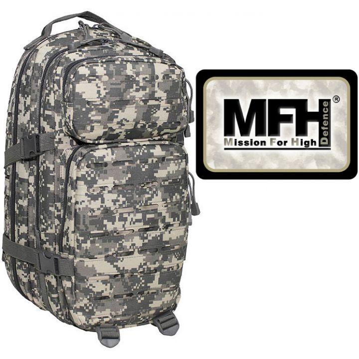 "Камуфляжний рюкзак 30л американського (США) типу MFH ""Assault I Laser"" піксельний камуфляж 30335Q"