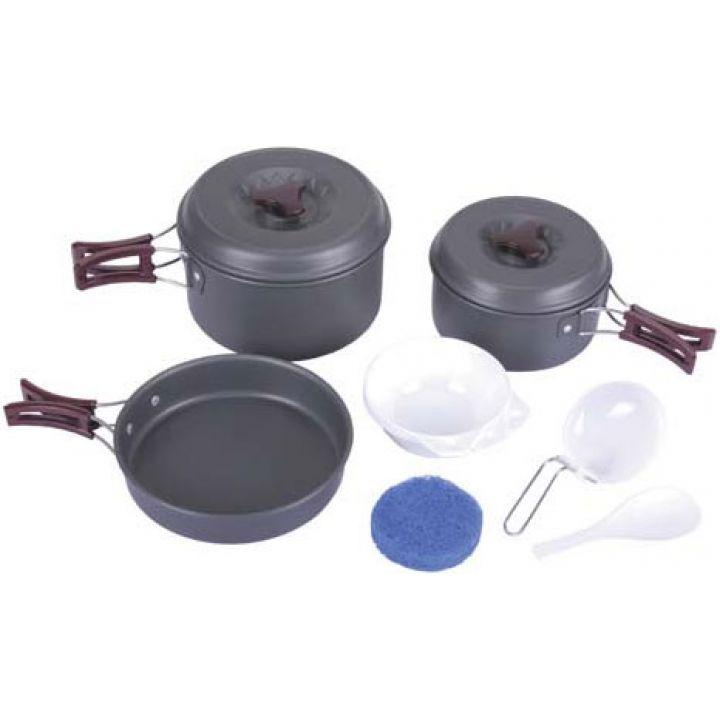 Набор алюминиевой посуды средний MFH 33334