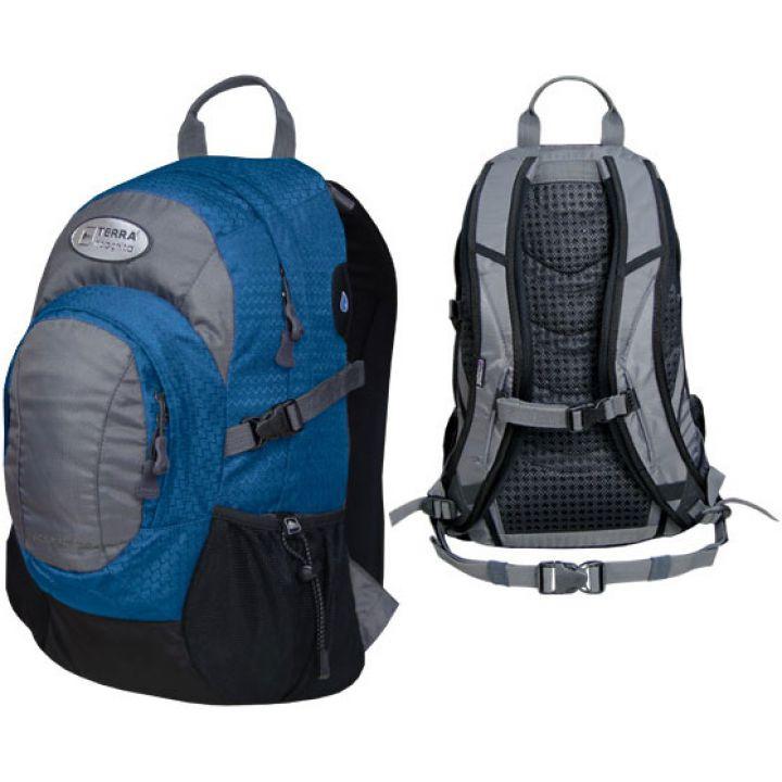 Рюкзак городской Terra Incognita Aspect 20 синий/серый