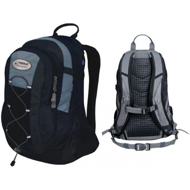 Рюкзак спортивный Terra Incognita Cyclone 22 чёрный/серый