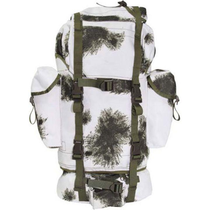 Рюкзак камуфляжний 65л зимовий камуфляж MFH 30253O