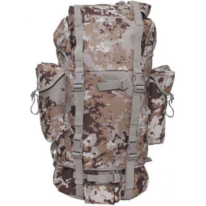 Рюкзак камуфляжний 65л італійський пустельний камуфляж MFH 30253M