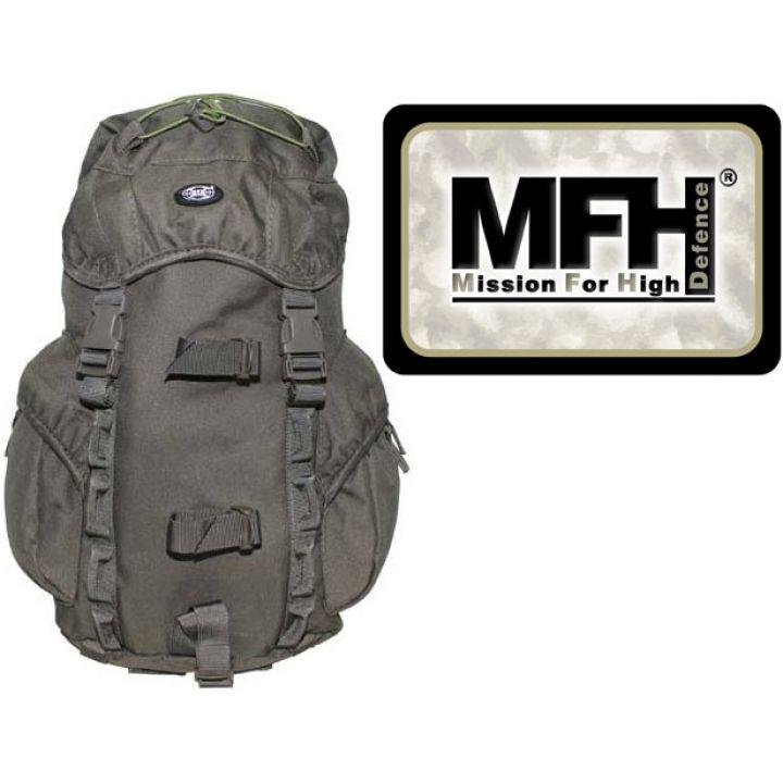 """Камуфляжный рюкзак 15л MFH """"Recon I"""" тёмно-зелёный 30345B"""