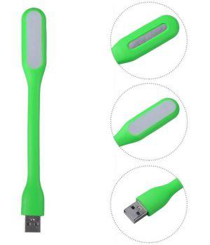USB ліхтарик світлодіодний для ноутбука/повербанка зелений