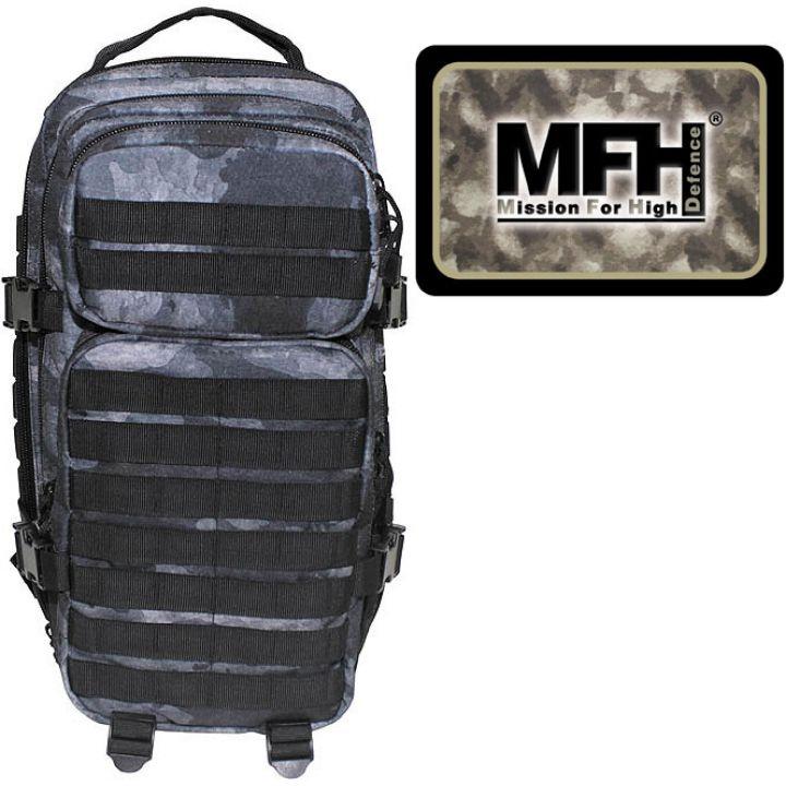 "Камуфляжний рюкзак 30л американського (США) типу MFH ""Assault I"" HDT-сірий камуфляж 30333H"