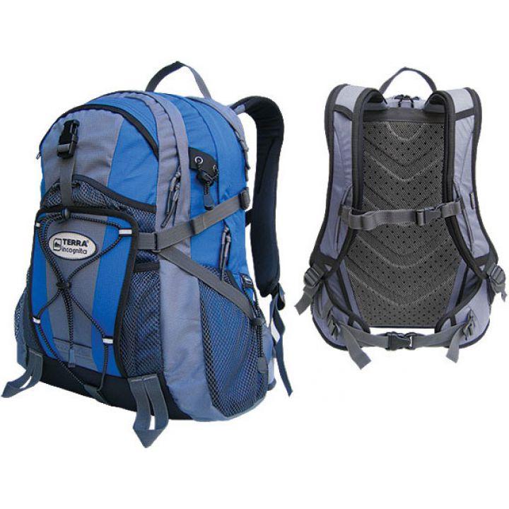 Рюкзак міський Terra Incognita Vector 32 синій/сірий