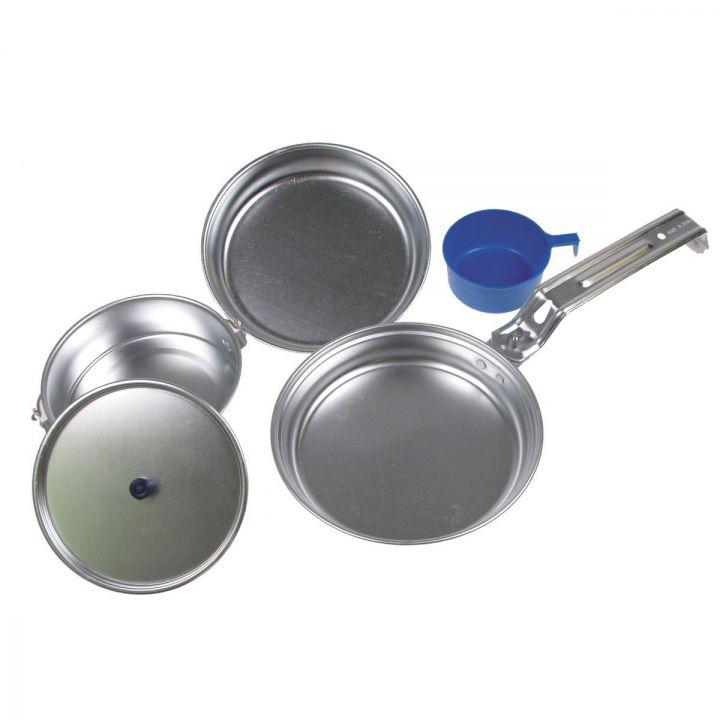 """Набор походной посуды алюминиевый MFH """"De Lux"""" 33353"""