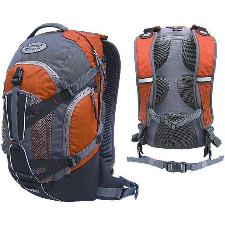 Рюкзак спортивний Terra Incognita Dorado 16 оранжевий/сірий