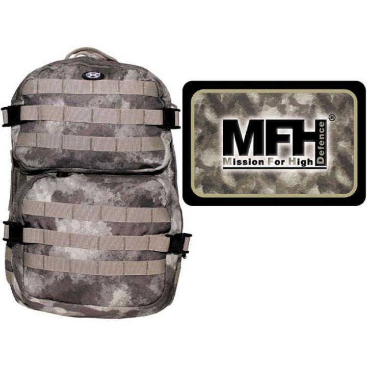 """Рюкзак камуфляжный 40л американского (США) типа MFH """"Assault II"""" HDT camo 30343P"""