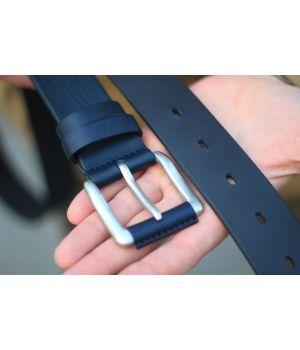 Ремень синий 4.0 см