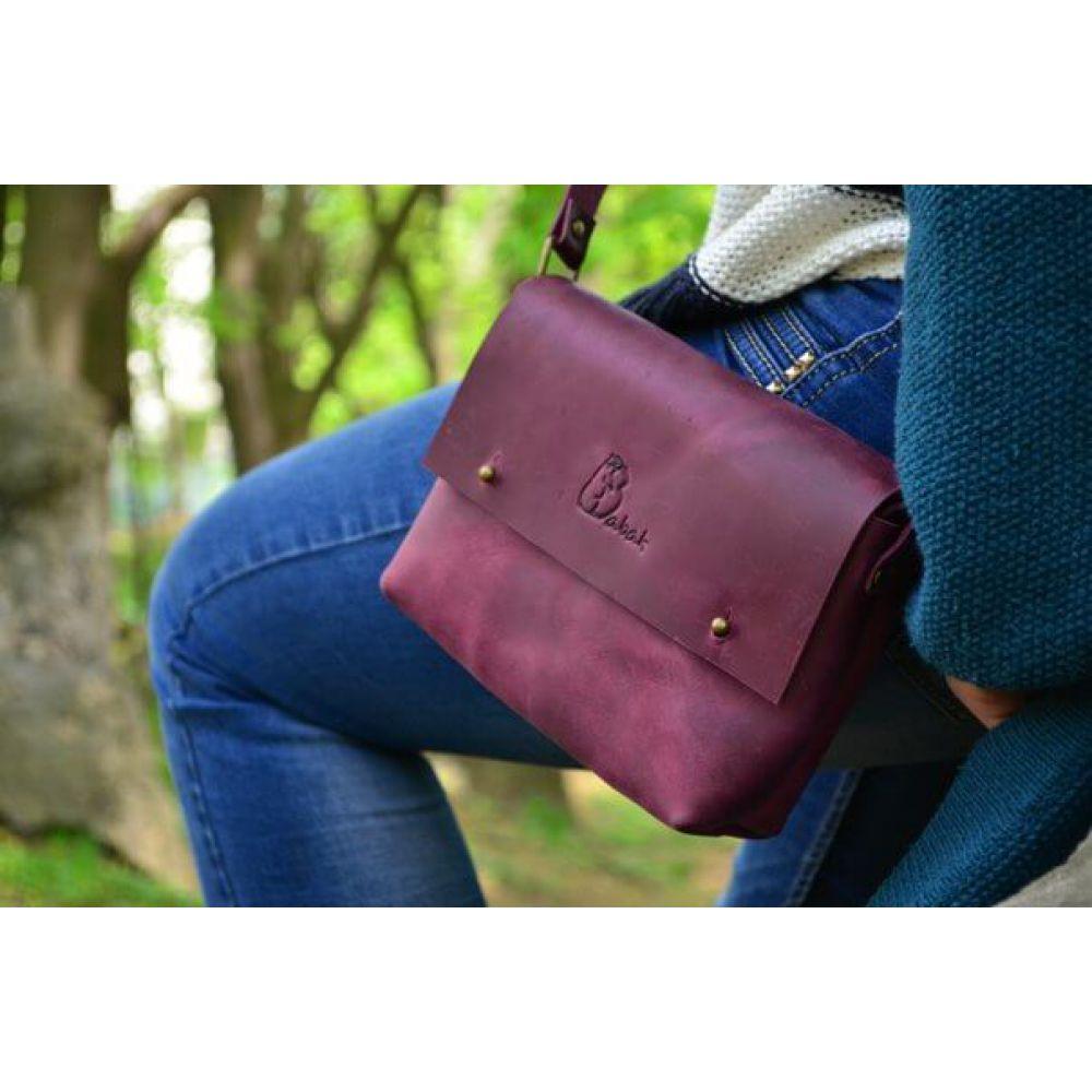 3f897df6e76c Кожаная Сумка Kolibri Marsala - Купить кожаные сумки украинского ...