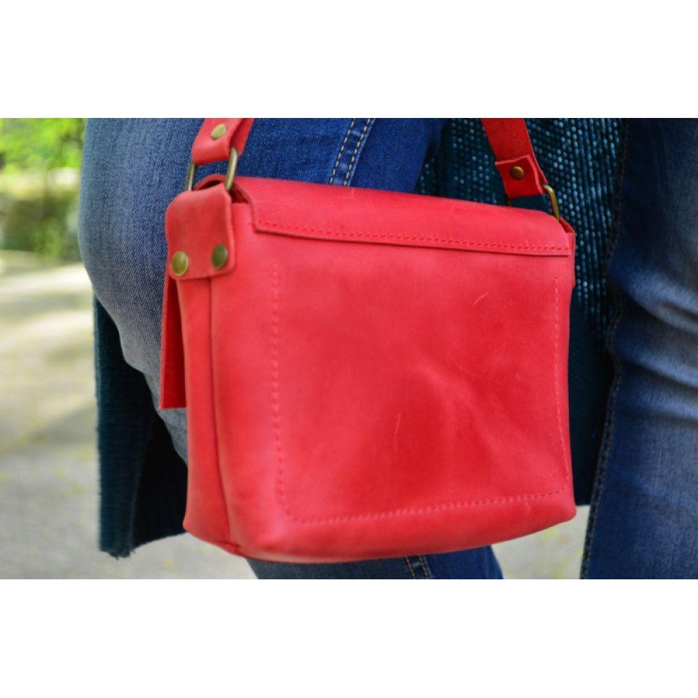 bb0e36230e57 Кожаная Сумка Kolibri Red - Купить кожаные сумки украинского ...
