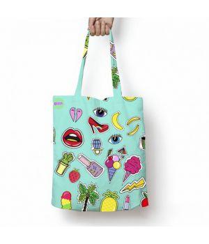 Текстильная сумка с рисунком 57653