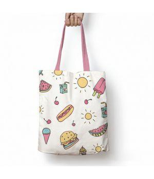 Текстильная сумка с рисунком 57654