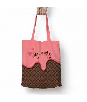 Текстильная сумка с рисунком 57667