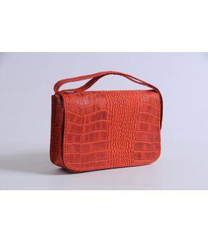 Стильная сумка из натуральной кожи, 77390