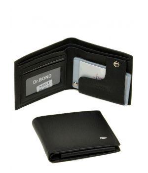 Кожаный мужской кошелек бумажник ручной работы, 76411