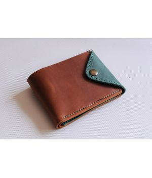 Стильний жіночий гаманець, кошелек з натуральної шкіри, 76702