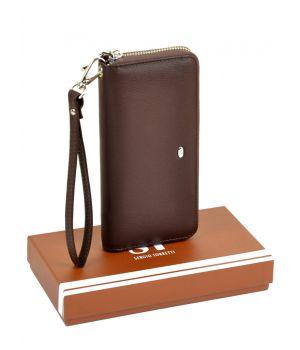 Женский кошелек-сумочка W38 coffee, 76433