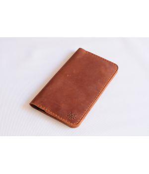 Кошелек для путешествий для документов и билетов кожа, 76583