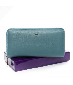 Кошелек женский Classic кожа DR. BOND WS-8 light-blue, 76414