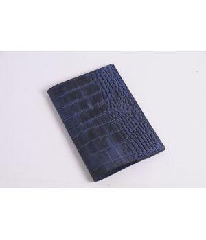 Дизайнерська шкіряна обкладинка на паспорт, 77174