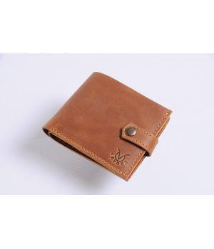 Кожаный мужской кошелек бумажник ручной работы, 76494