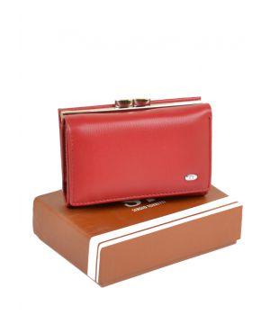 Женский кошелек из кожзама SERGIO TORRETTI W11 red, 76435