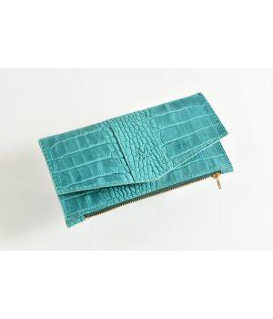 Стильний жіночий гаманець, кошелек з натуральної шкіри, 76665