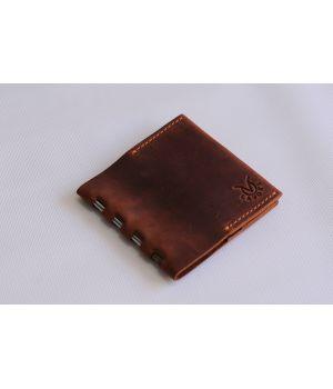 Чоловічий шкіряний зажим для грошей, купюр, банкнот, 76736